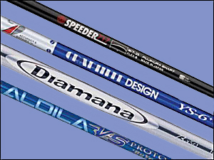 graphite golf club shafts